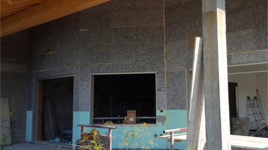 isolamento termico realizzato con pannelli in EPS per coibentare